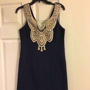 NWT Lilly Pulitzer Largo Dress Navy size 2